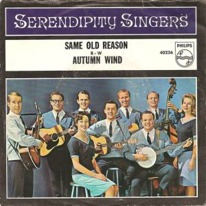 Philips 40236 - Serendipity Singers - Autumn Wind PS