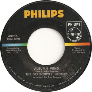 Philips 40236 - Serendipity Singers - Autumn Wind
