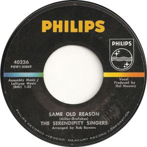 Philips 40236 - Serendipity Singers - Same Old Reason