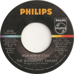 Philips 40246 - Serendipity Singers - High North Star