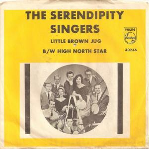 Philips 40246 - Serendipity Singers - Little Brown Jug PS