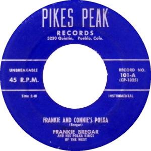 Pikes Peak 101 - Bregar, Frankie - Connie's Polka