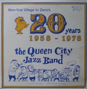 QUEEN CITY JAZZ BAND - ZENO 849 - RA (3) A