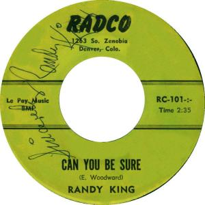 Radco 101 - King, Randy - SURE