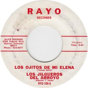 Rayo 106 - Jilgueros Del Arroyo - Los Ojitos de mi Elena