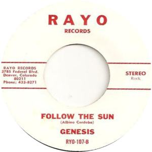 Rayo 107 - Genesis - Follow the Sun