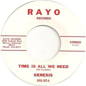 Rayo 107 - Genesis - Time is All We Need