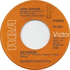 RCA 1969 OCT - 275 - DENVER JOHN A