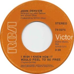 RCA 1969 OCT - 275 - DENVER JOHN B