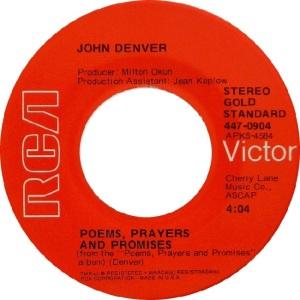 RCA 1972 904 GOLD STANDARD - DENVER JOHN A (2)