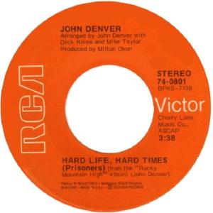 RCA 1972 AUG 801 - DENVER JOHN A