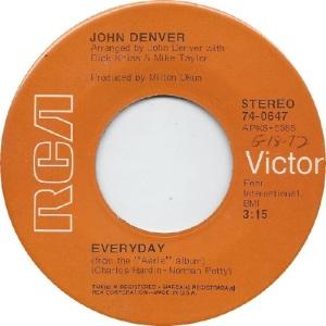 RCA 1972 JAN 647 - DENVER JOHN - A