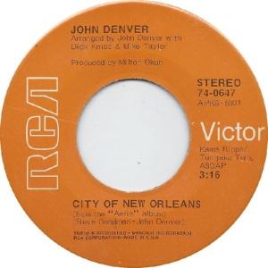 RCA 1972 JAN 647 - DENVER JOHN - B