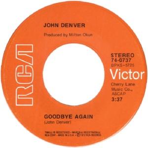 RCA 1972 JUN 737 - DENVER JOHN - A