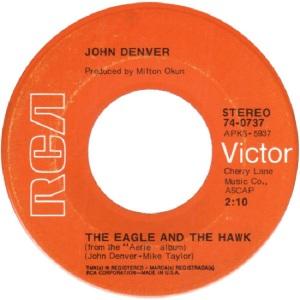 RCA 1972 JUN 737 - DENVER JOHN - B