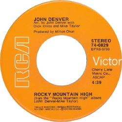 RCA 1972 NOV 829 - DENVER JOHN A