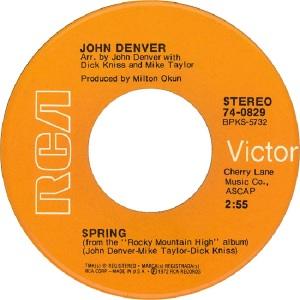 RCA 1972 NOV 829 - DENVER JOHN B