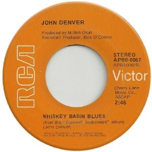 RCA 1973 AUG 67 - DENVER JOHN - B