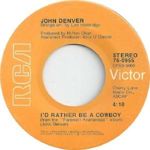 RCA 1973 MAY 955 - DENVER JOHN - A