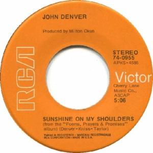 RCA 1973 MAY 955 - DENVER JOHN - B