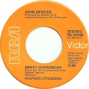 RCA 1974 DEC 10148 - DENVER JOHN - A