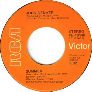 RCA 1974 DEC 10148 - DENVER JOHN - B