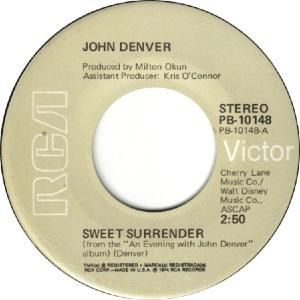 RCA 1974 DEC 10148 - DENVER JOHN - C