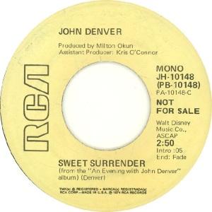 RCA 1974 DEC 10148 - DENVER JOHN - DJA