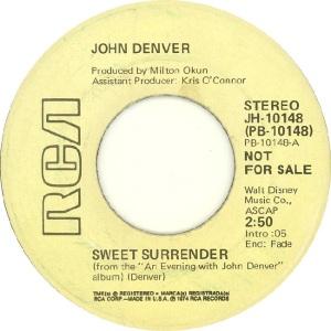 RCA 1974 DEC 10148 - DENVER JOHN - DJB