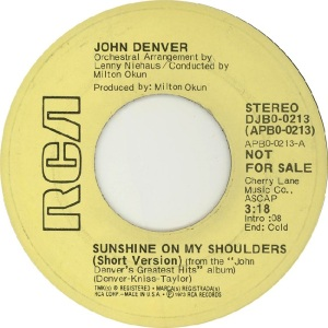 RCA 1974 JAN- 213 - DENVER JOHN - DJA (1)