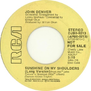 RCA 1974 JAN- 213 - DENVER JOHN - DJA (2)