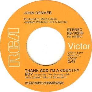 RCA 1975 05 - 10239 - DENVER JOHN - A