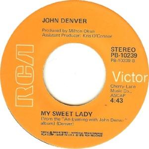 RCA 1975 05 - 10239 - DENVER JOHN - B