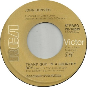 RCA 1975 05 - 10239 - DENVER JOHN - C
