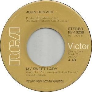 RCA 1975 05 - 10239 - DENVER JOHN - D