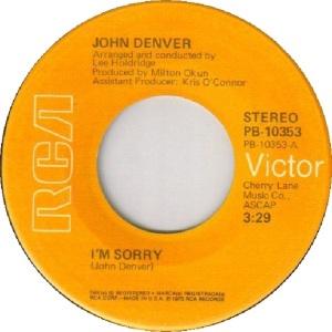 RCA 1975 08 - DENVER JOHN - C