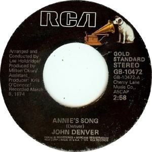 RCA 1975 11 - 10472 - GOLD STANDARD - DENVER JOHN A