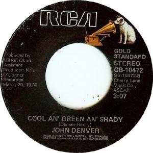 RCA 1975 11 - 10472 - GOLD STANDARD - DENVER JOHN B