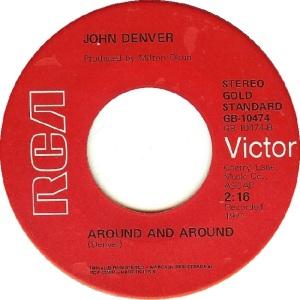 RCA 1975 11 - 10474 GOLD STANDARD - DENVER JOHN B