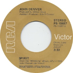 RCA 1976 04 - 10687 - DENVER JOHN B