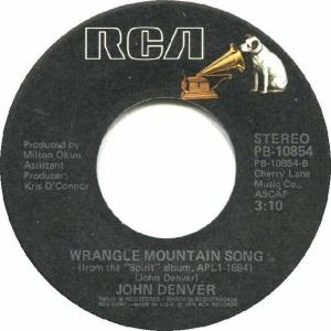 RCA 1976 12 - 10854 - DENVER JOHN B