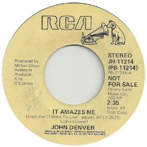 RCA 1978 02 - 11214 - DENVER JOHN - DJ B