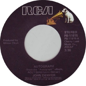 RCA 1980 02 11915 - DENVER JOHN - A