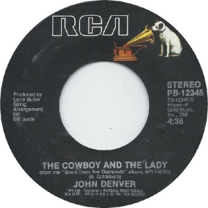 RCA 1981 10 12345 - DENVER JOHN A