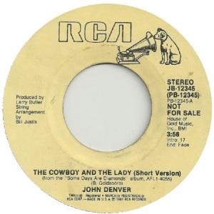RCA 1981 10 12345 - DENVER JOHN DJ A
