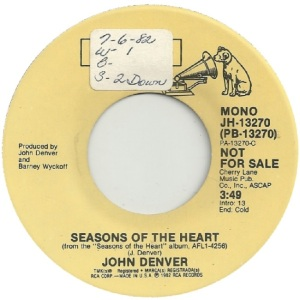 RCA 1982 11 - 13270 - DENVER JOHN - DJA