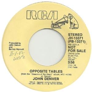 RCA 1982 11 - 13371 - DENVER JOHN DJ B