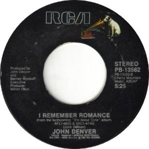 RCA 1983 05 13562 - DENVER JOHN B