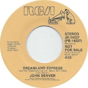RCA 1985 11 14277 - DENVER JOHN - DJ A