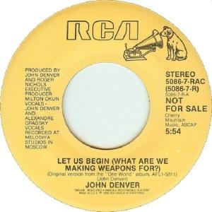RCA 1986 01 5096 - DENVER JOHN - DJA